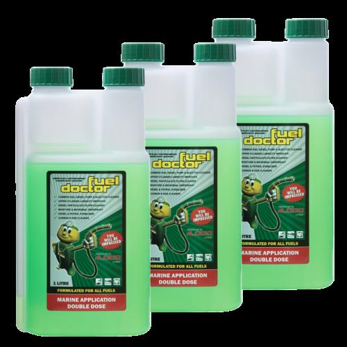 Fuel Doctor Fuel Conditioner 3 x 1 Litre Bottles