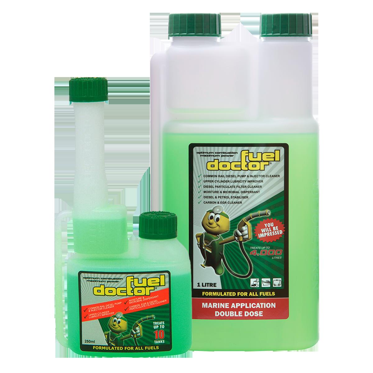 Fuel Doctor Fuel Conditioner 250ml+1L Bottles