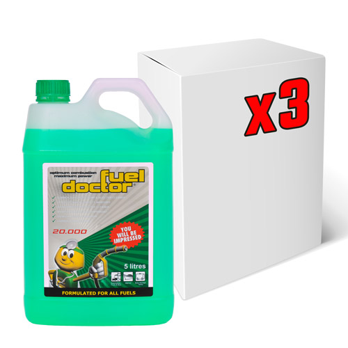 Fuel Doctor 3x 5Litre Carton